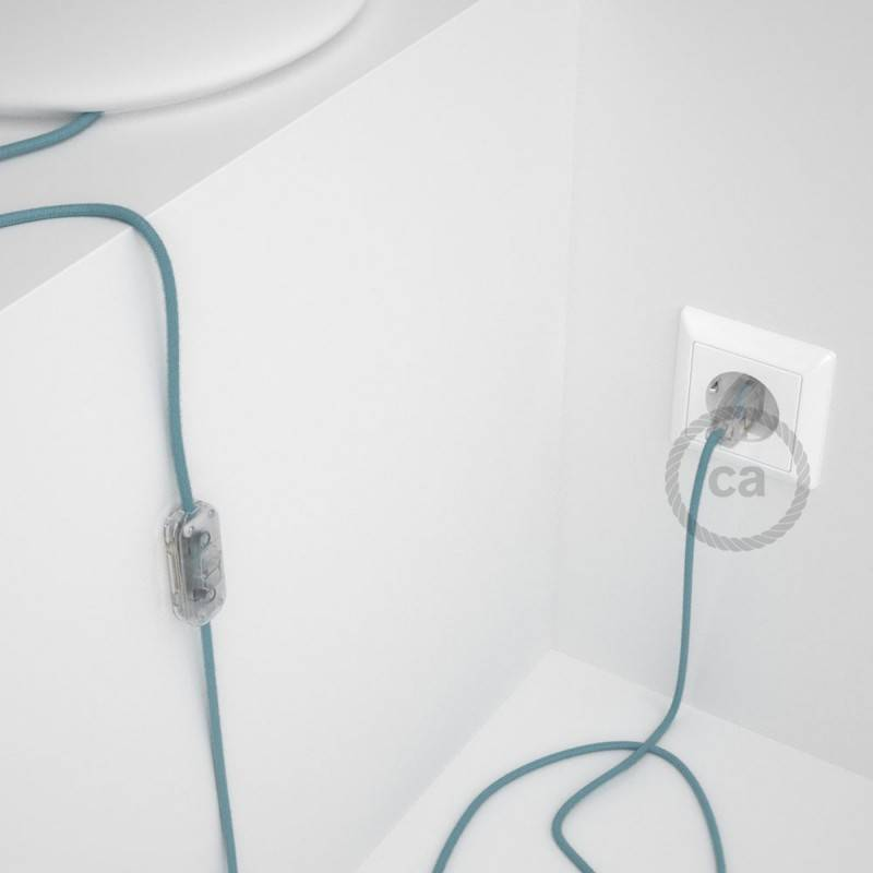 Lamp wiring, RC53 Ocean Cotton 1,80 m. Choose the colour of the switch and plug.