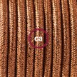 Lamp wiring, RL22 Sparkly Copper Rayon 1,80 m.
