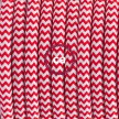 Lamp wiring, RZ09 Red ZigZag Rayon 1,80 m.