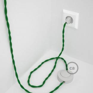 Wiring Pedestal, TM06 Green Rayon 3 m. Choose the colour of the switch and plug.
