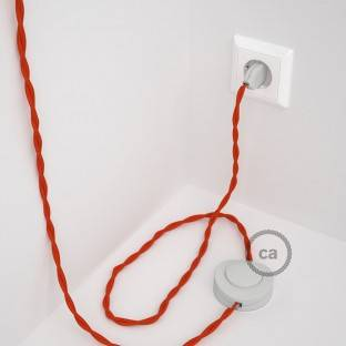 Wiring Pedestal, TM15 Orange Rayon 3 m. Choose the colour of the switch and plug.