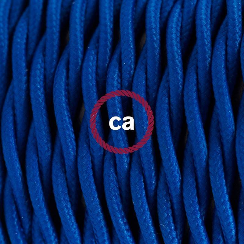 Wiring Pedestal, TM12 Blue Rayon 3 m. Choose the colour of the switch and plug.