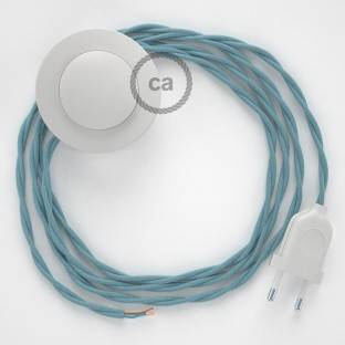 Wiring Pedestal, TC53 Ocean Cotton 3 m. Choose the colour of the switch and plug.