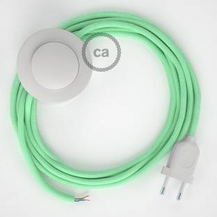 Wiring Pedestal, RC34 Milk and Mint Cotton 3 m. Choose the colour of the switch and plug.