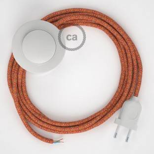 Wiring Pedestal, RX07 Indian Summer Cotton 3 m. Choose the colour of the switch and plug.