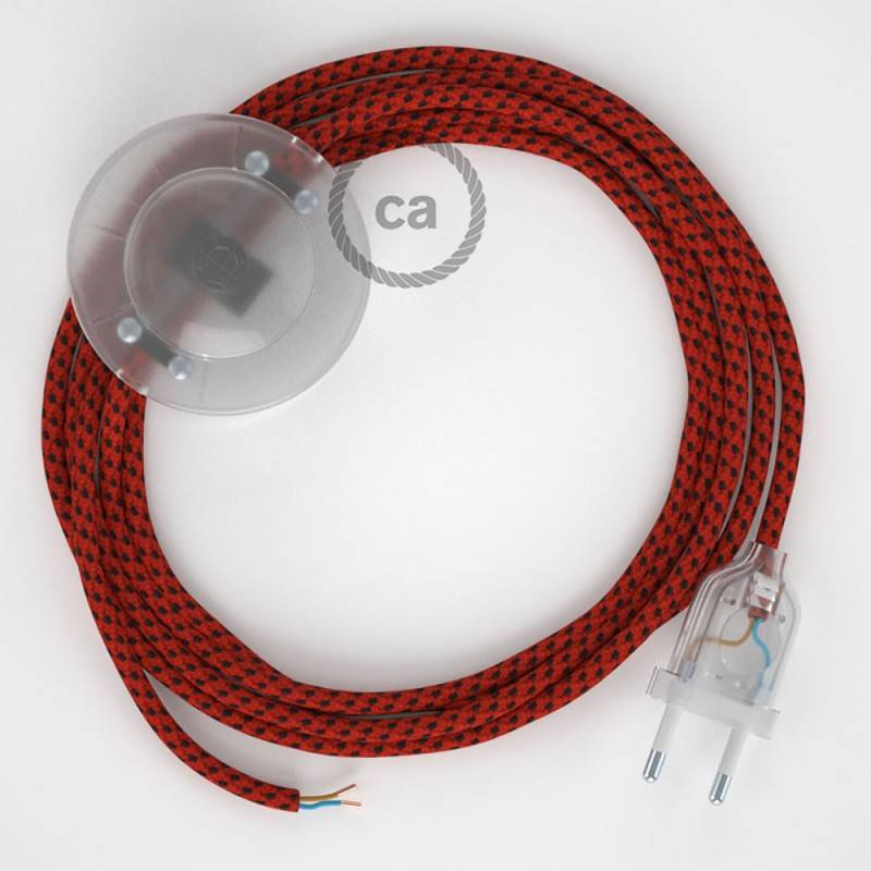 Wiring Pedestal, RT94 Red Devil Rayon 3 m. Choose the colour of the switch and plug.