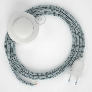 Wiring Pedestal, RT14 Stracciatella Rayon 3 m. Choose the colour of the switch and plug.
