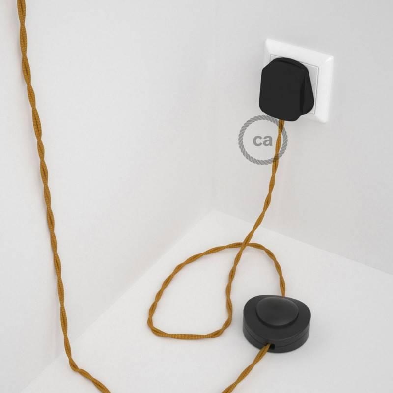 Wiring Pedestal, TM05 Gold Rayon 3 m.