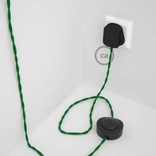 Wiring Pedestal, TM06 Green Rayon 3 m.