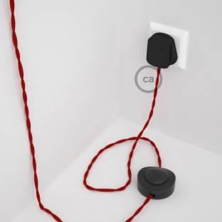 Wiring Pedestal, TM09 Red Rayon 3 m.