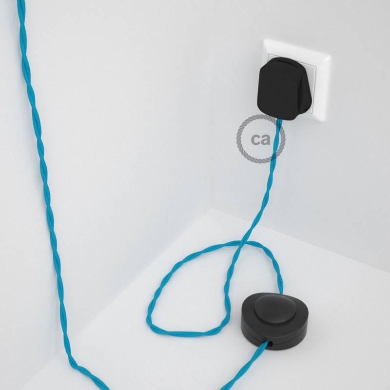 Wiring Pedestal, TM11 Turquoise Rayon 3 m.