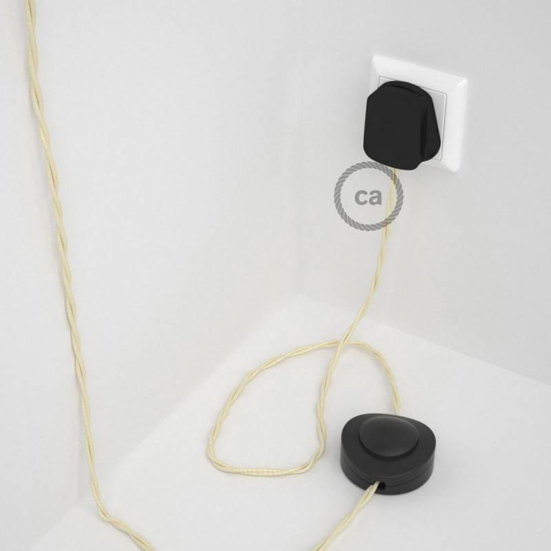 Wiring Pedestal, TM00 Ivory Rayon 3 m.