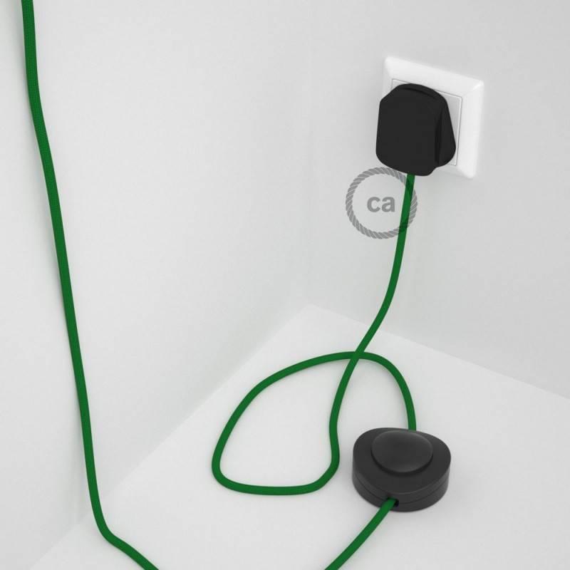 Wiring Pedestal, RM06 Green Rayon 3 m.