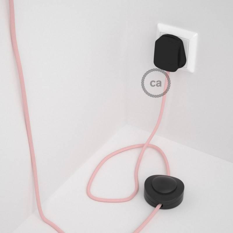 Wiring Pedestal, RM16 Baby Pink Rayon 3 m.