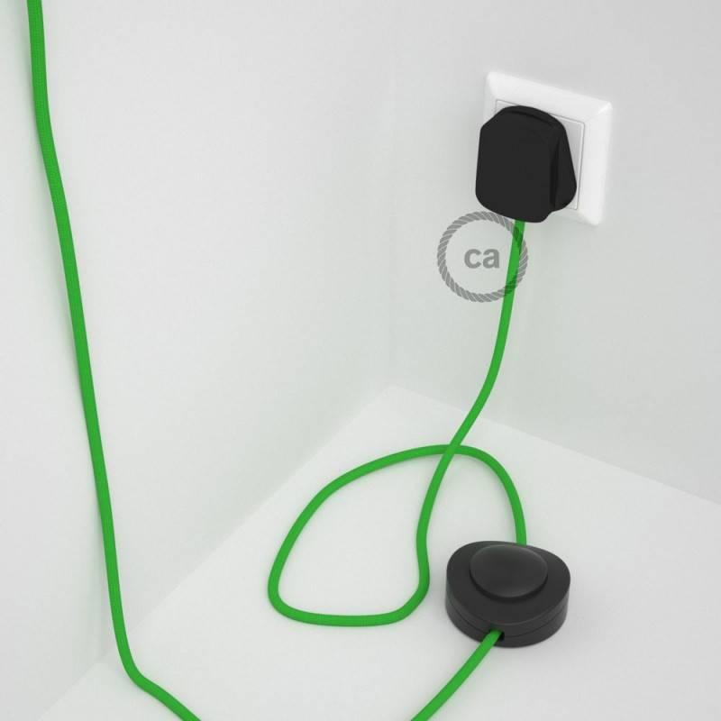 Wiring Pedestal, RM18 Lime Green Rayon 3 m.