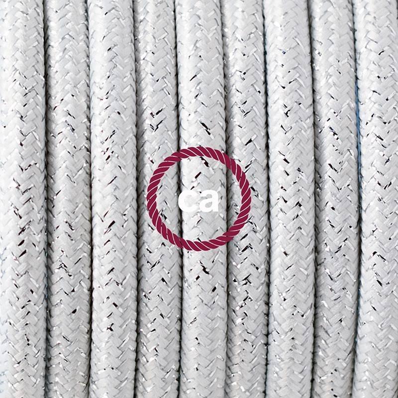 Wiring Pedestal, RL01 Sparkly White Rayon 3 m.