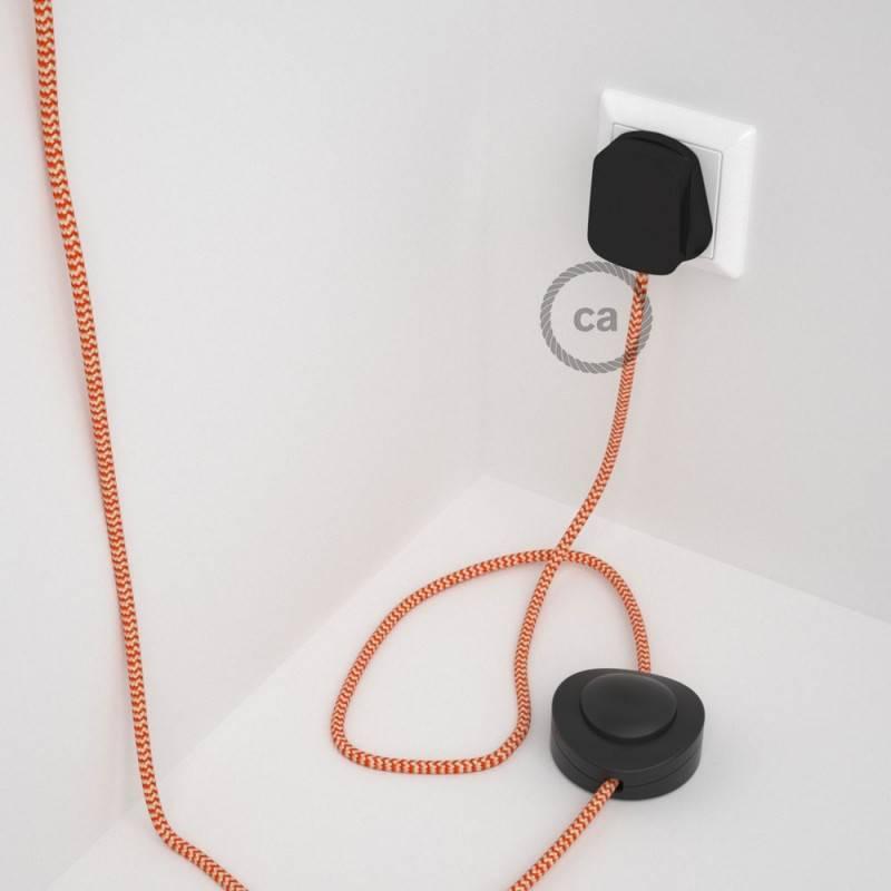 Wiring Pedestal, RZ15 Orange ZigZag Rayon 3 m.