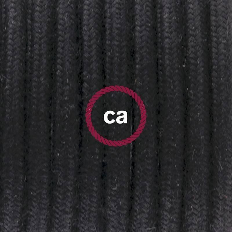 Wiring Pedestal, RC04 Black Cotton 3 m.