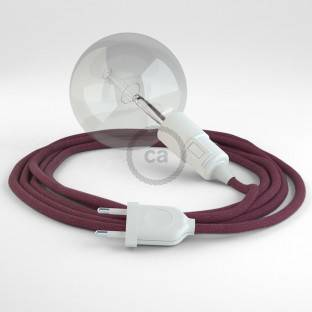 Create your RC32 Burgundy Cotton Snake and bring the light wherever you want.