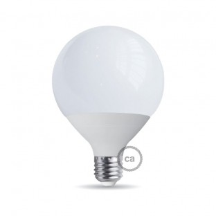 Light bulb energy saving Globe 120 25W E27