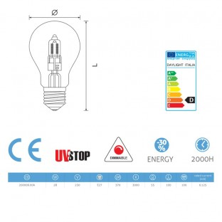 Light bulb Halo Drop 28W E27 Dimmable