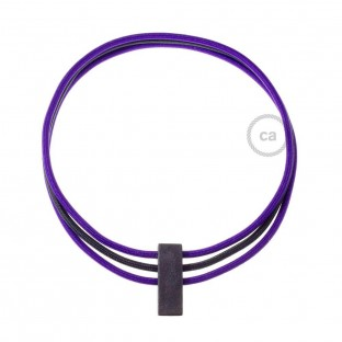 Circles Necklace color: Violet RM14 and Black RM04.