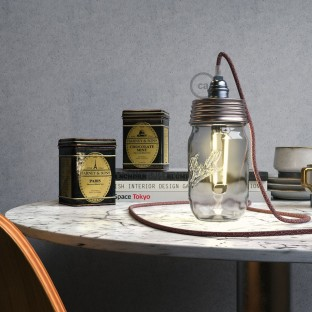 DIY Mason Jar Pendant Kit - Creative-Cables International