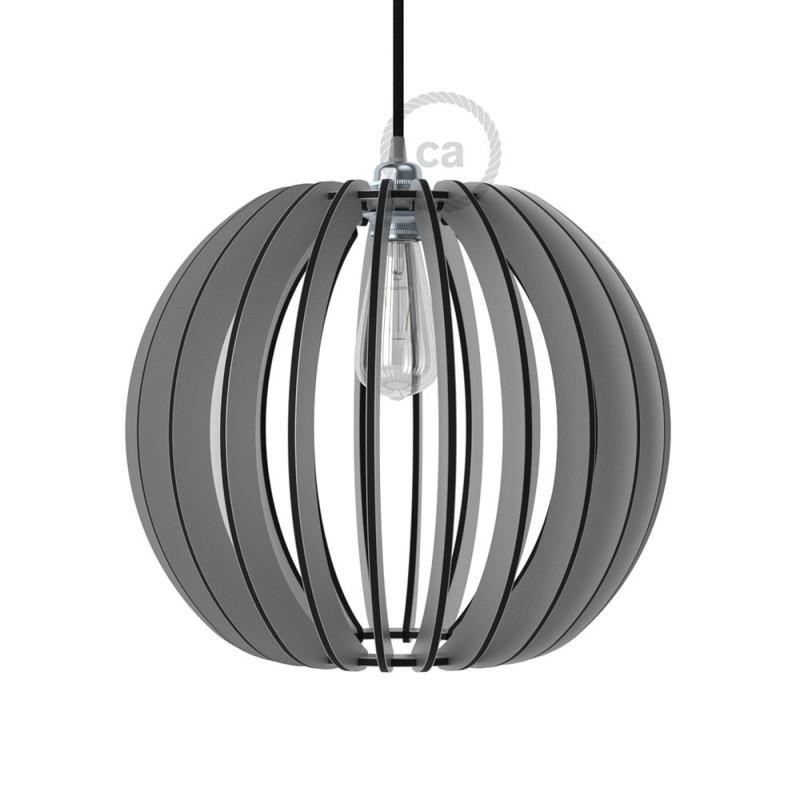 Pregia Sfera 40 Dibond lampshade with alluminium finish