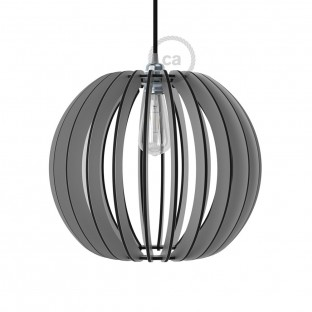 Pregia Sfera 40 Dibond lampshade with alluminium finish