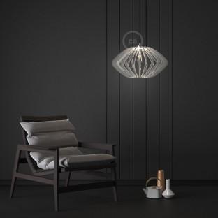 Pregia Disco 52 plexiglass lampshade