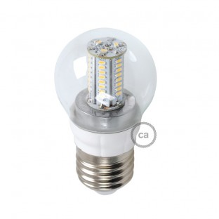 Light bulb Led Sphere 4W E27 Clear