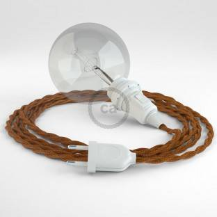 Create your TM22 Whiskey Rayon Snake for lampshade and bring the light wherever you want.