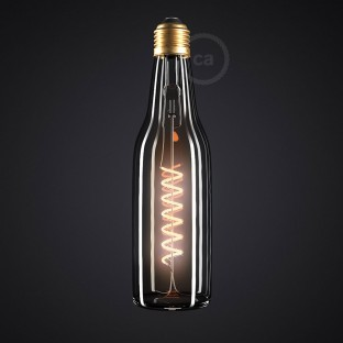 LED Clear Beer Light Bulb 8W E27 Dimmable 2200K