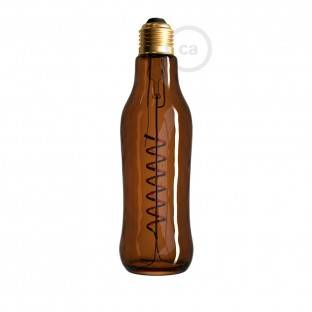 LED Brown Beer Light Bulb 8W E27 Dimmable 1800K