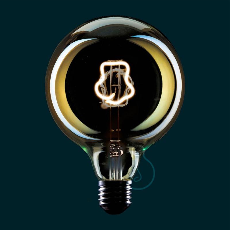 LED Light Bulb Globe G125 Masterchef line Toque Blanche Filament 4W E27 Dimmable 2000K