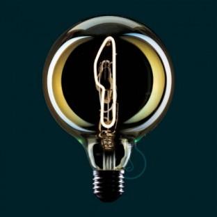 LED Light Bulb Globe G125 Masterchef line Knife Filament 4W E27 Dimmable 2000K