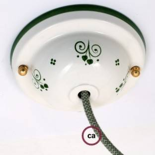 Ceramic Deco-81 Berries ceiling rose kit