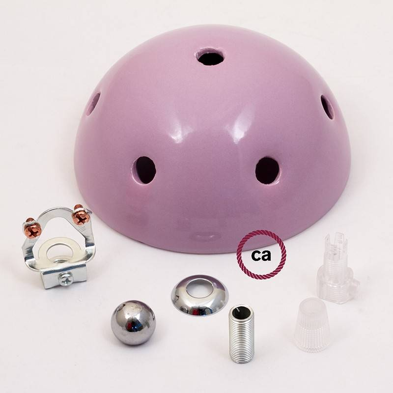 Ceramic 7-hole ceiling rose kit