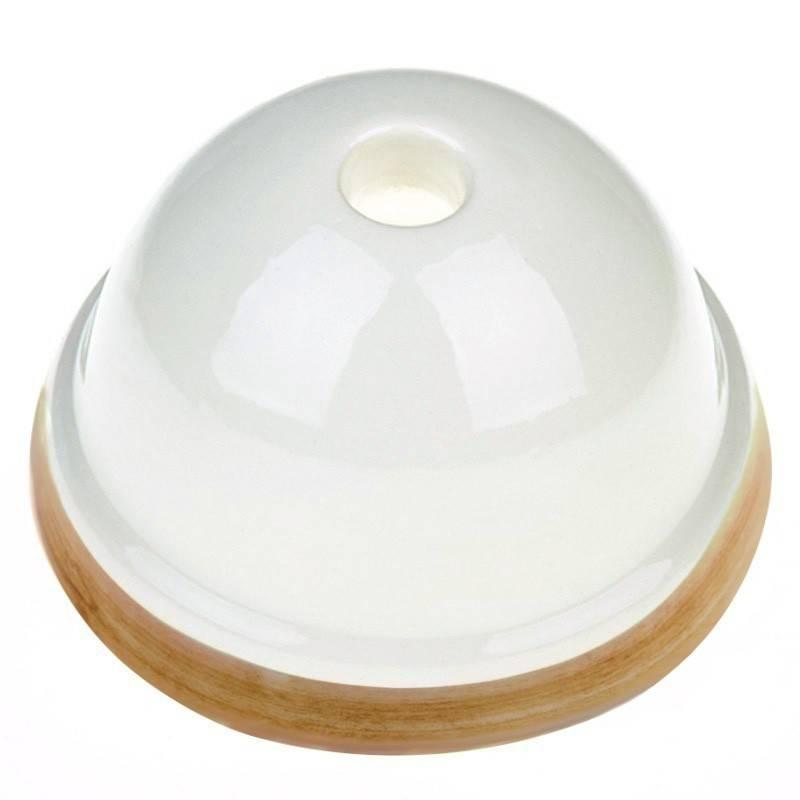 Ceramic mini ceiling rose kit
