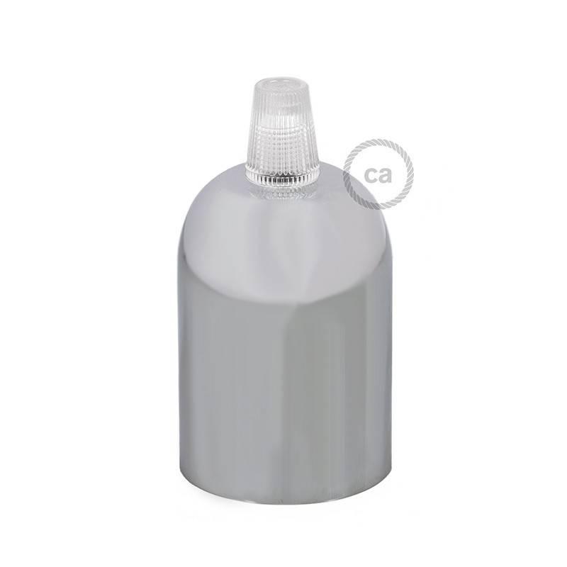 Half-sphere painted metal E27 lamp holder kit
