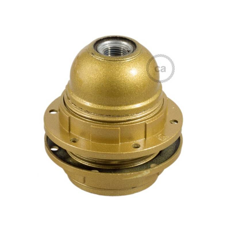 Double ferrule bakelite E27 lamp holder kit for lampshade