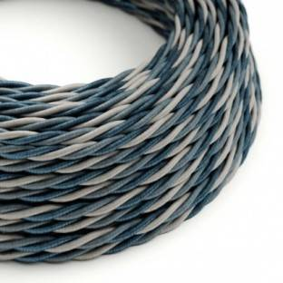 Electric Cable covered with twisted Rayon - Bernadotte TG08