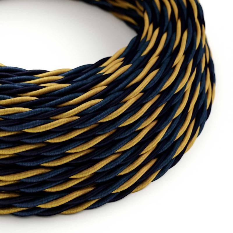 Electric Cable covered with twisted Rayon - Savoia TG09