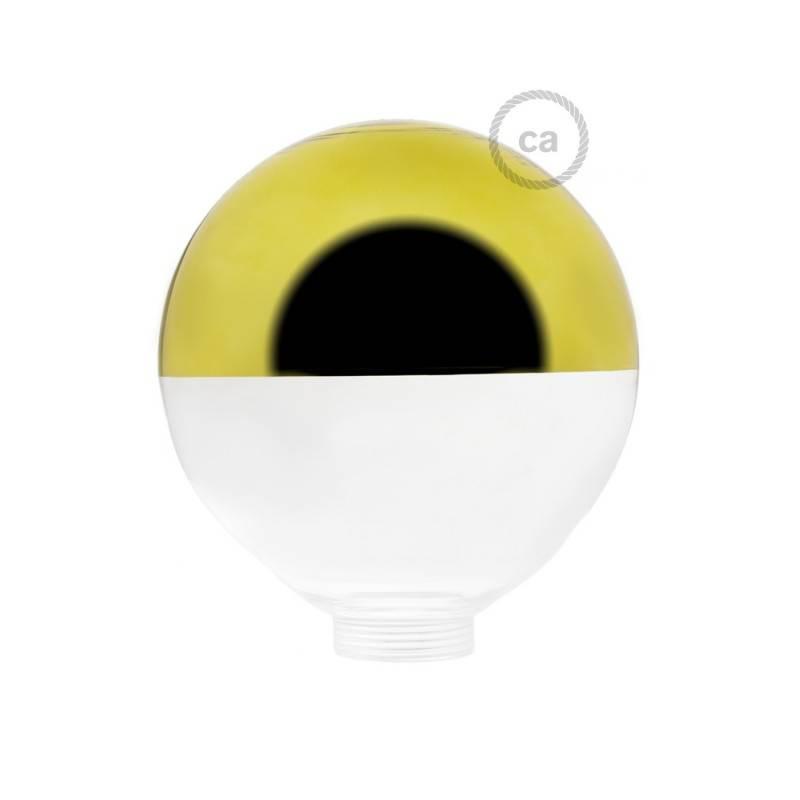 Bulb for modular decorative light bulb G125 Gold Semisphere