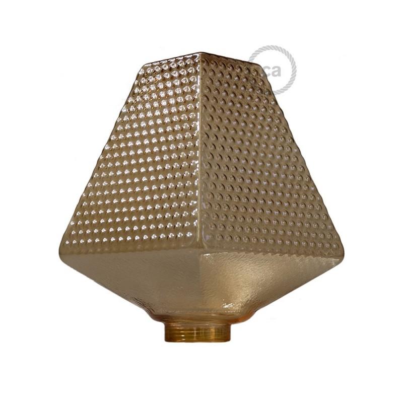 Bulb for modular decorative light bulb G160 Smoked
