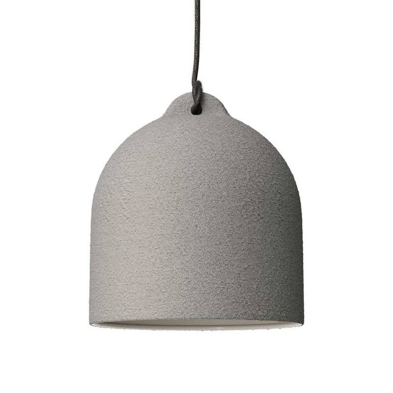 Bell M ceramic lampshade for suspension - Made in Italy