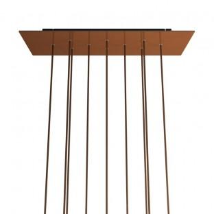 Rectangular XXL Rose-One 10-hole ceiling rose kit, 675 x 225 mm Cover