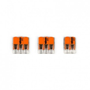 WAGO connector kit compatible with 2x cable for 2 hole ceiling rose