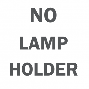 Without lamp holder