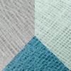 Light Blue Polyester - Denim - Pearl Grey